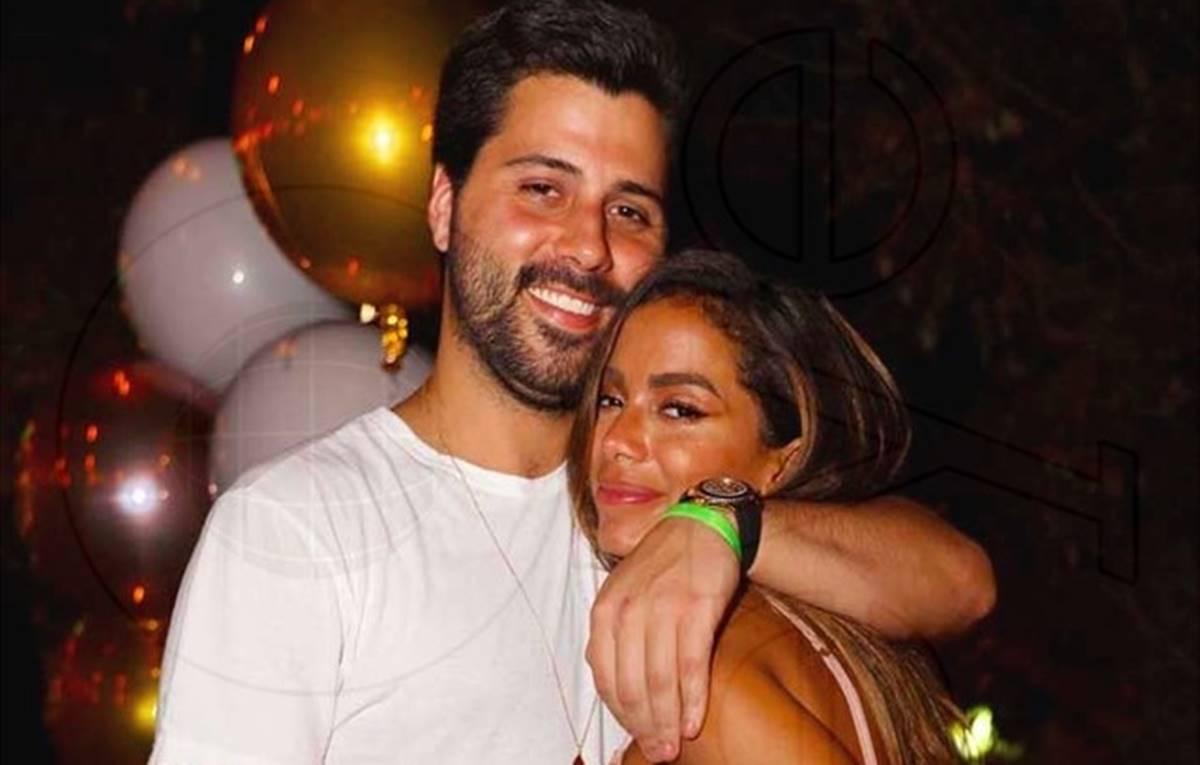 Anitta e seu namorado americano, o empresário Michael Chetrit