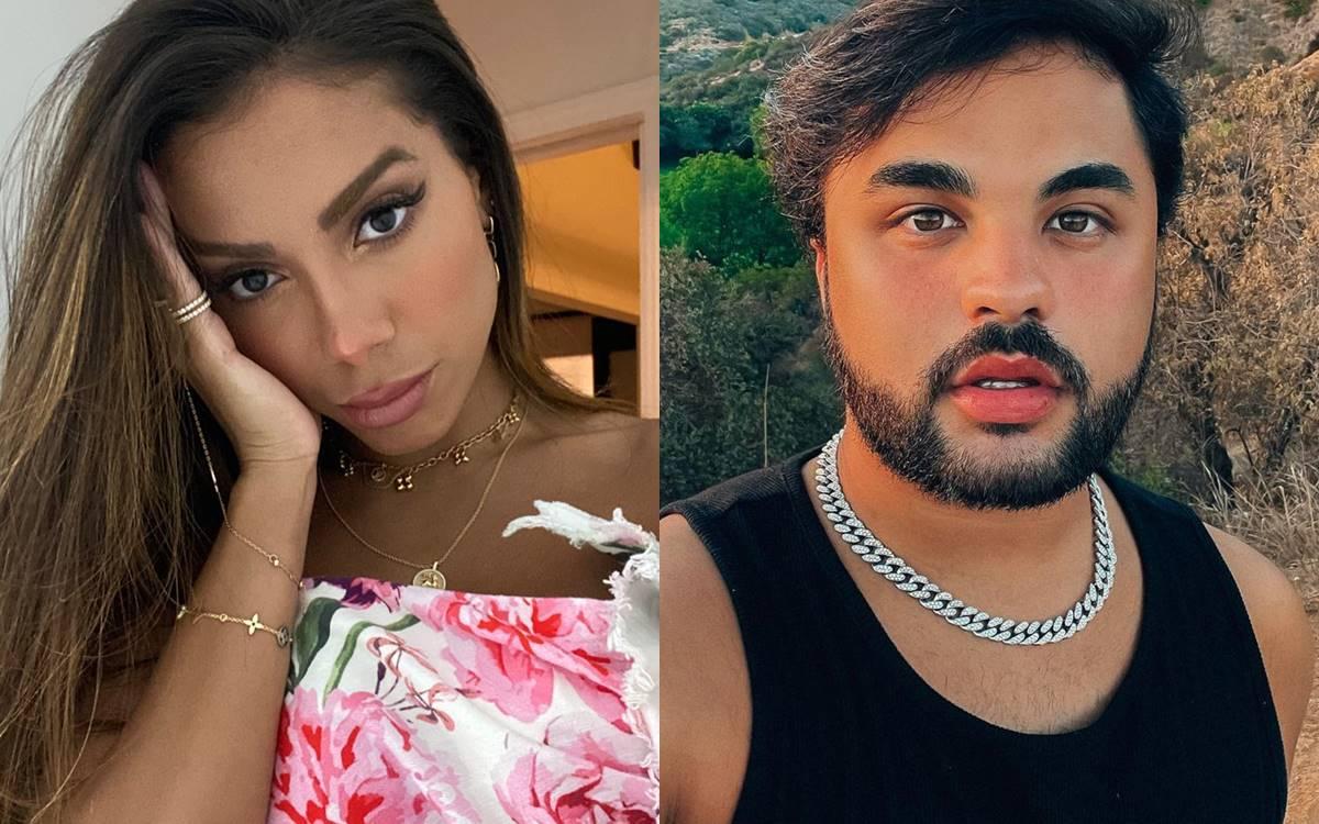 Anitta e Lucas Guedez