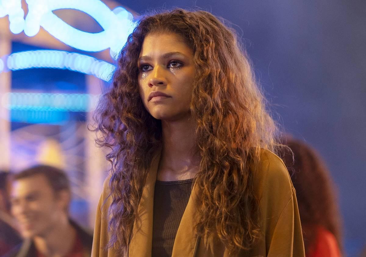 Zendaya é protagonista em Euphoria